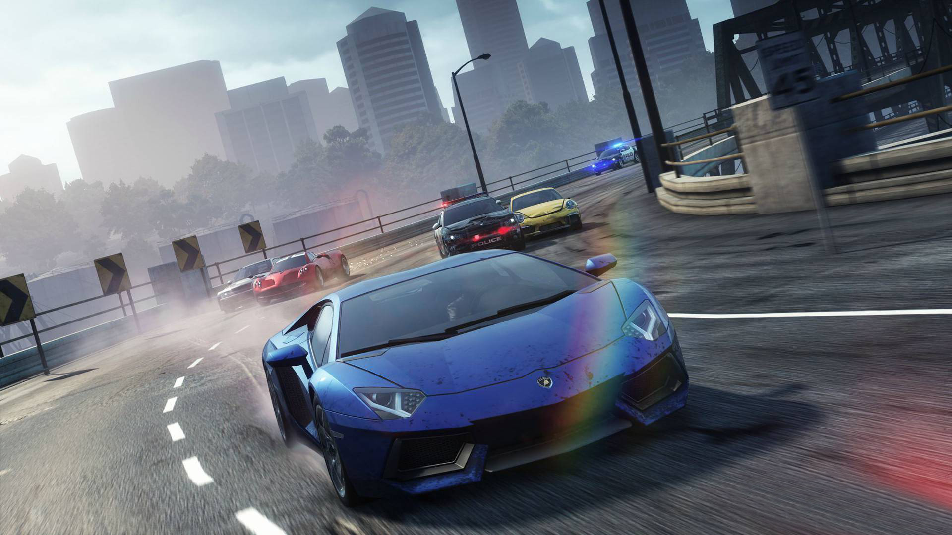 Need for speed : the run is a racing video game that published by electronic arts in 2011