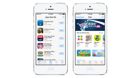 Kids App Store iPhone