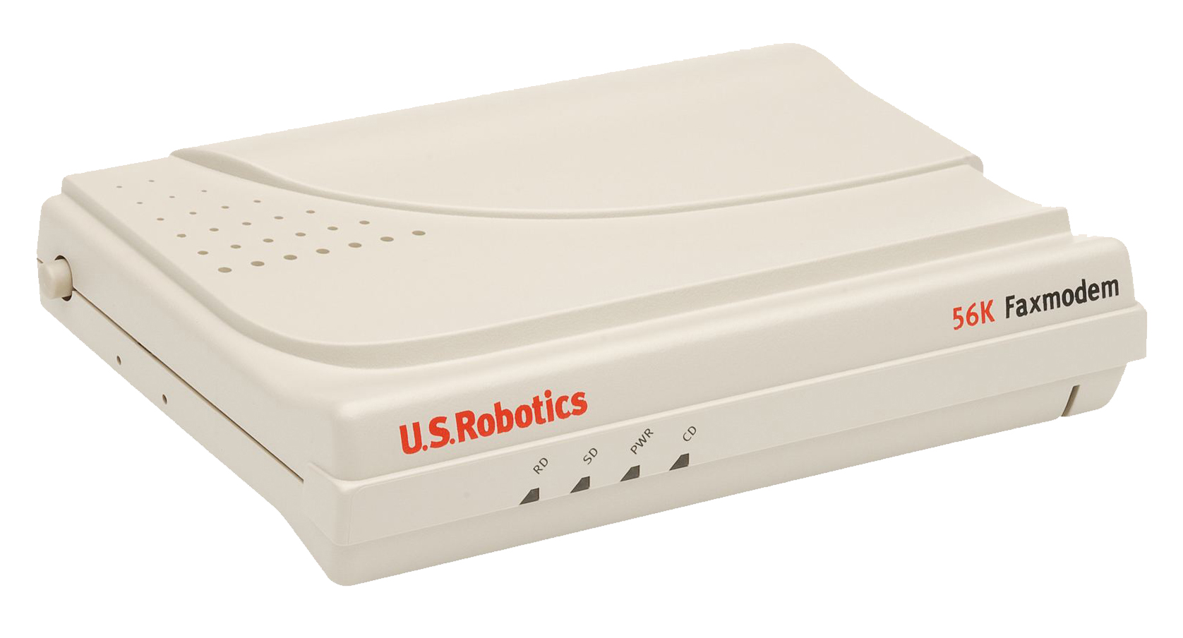 Robotics 56k modem adds even