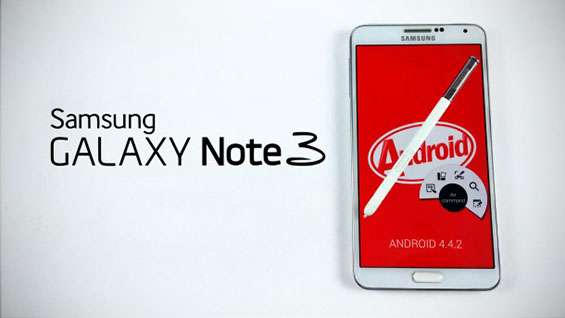 Samsung Galaxy Note 3 Android 4.2.2 KitKat