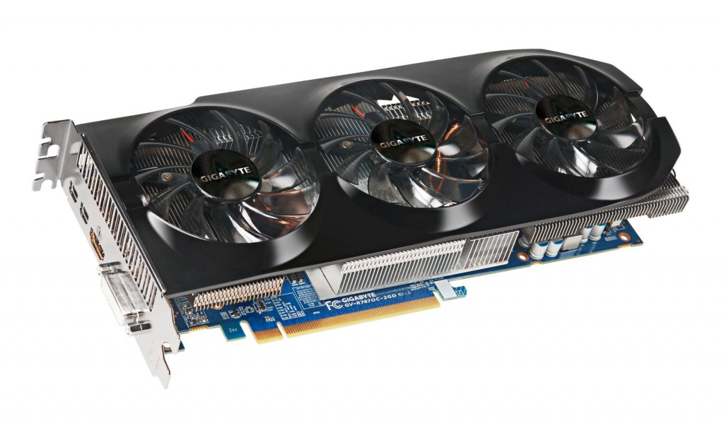 Gigabyte GeForce GTX660 видеокарты