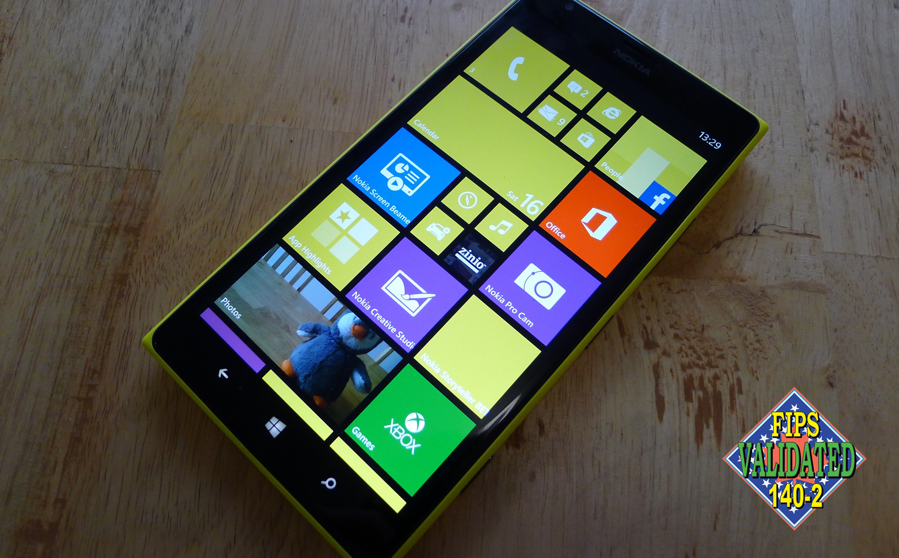 Windows Phone 8 FIPS
