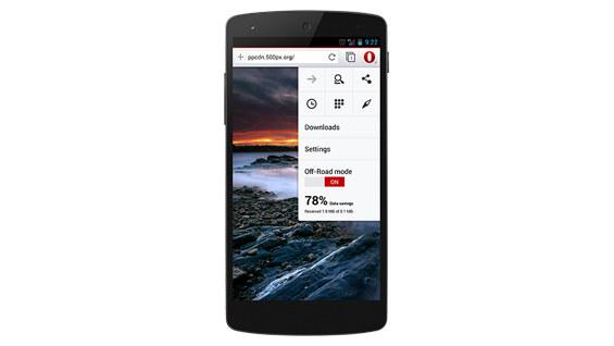 Opera 20 Android