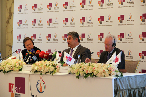 Baku 2015 European Games announces Nar Mobile as Official Partner