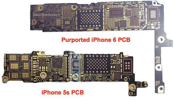 iPhone-6-vs-iPhone-5s-PCB