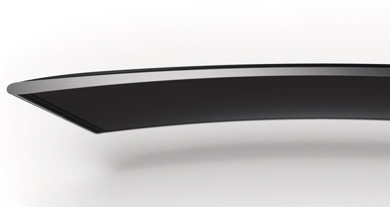 Curved screens
