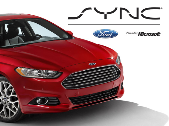 2013 Fusion and 2013 Flex Will Offer SYNC as Standard Equipment