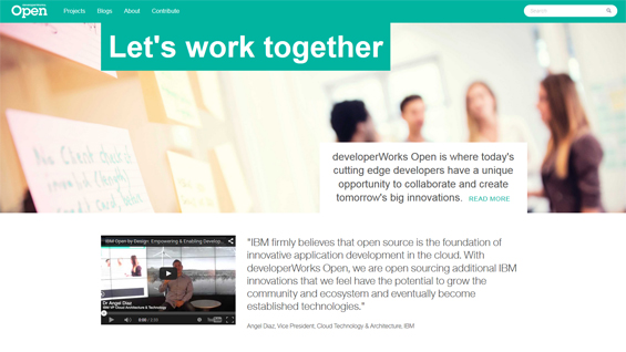 developerWorks Open