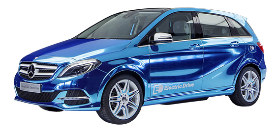 Mercedes-Benz B-Class Electric Drive copy