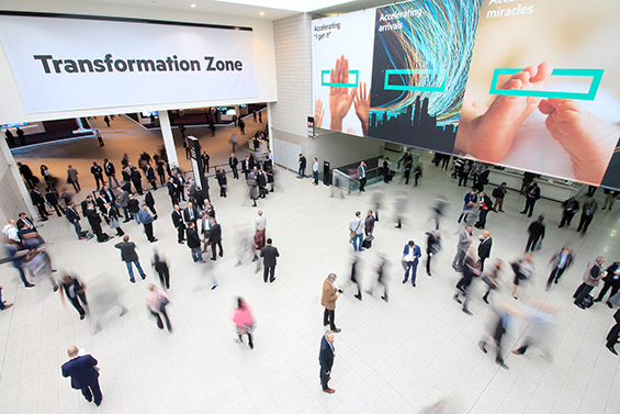 Hewlett Packard Enterprise Discover 2015 London