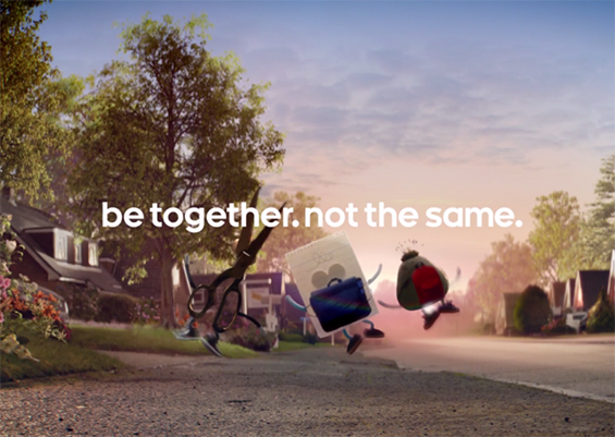 be together. not the same