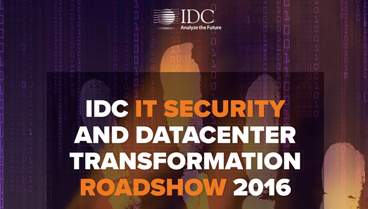 IDC IT Security and Datacenter Transformation 2016