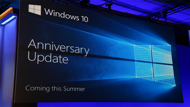 Windows Anniversary Update