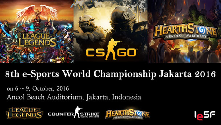 The 8-th e-Sports World Championship Jakarta 2016