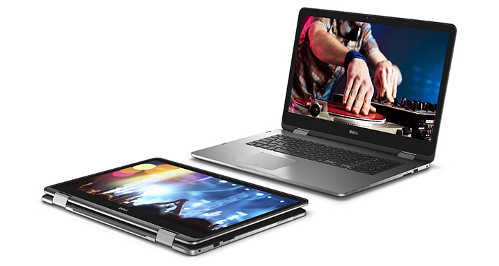 Inspiron 17 7000 Series 2-in-1 Touch Notebooks
