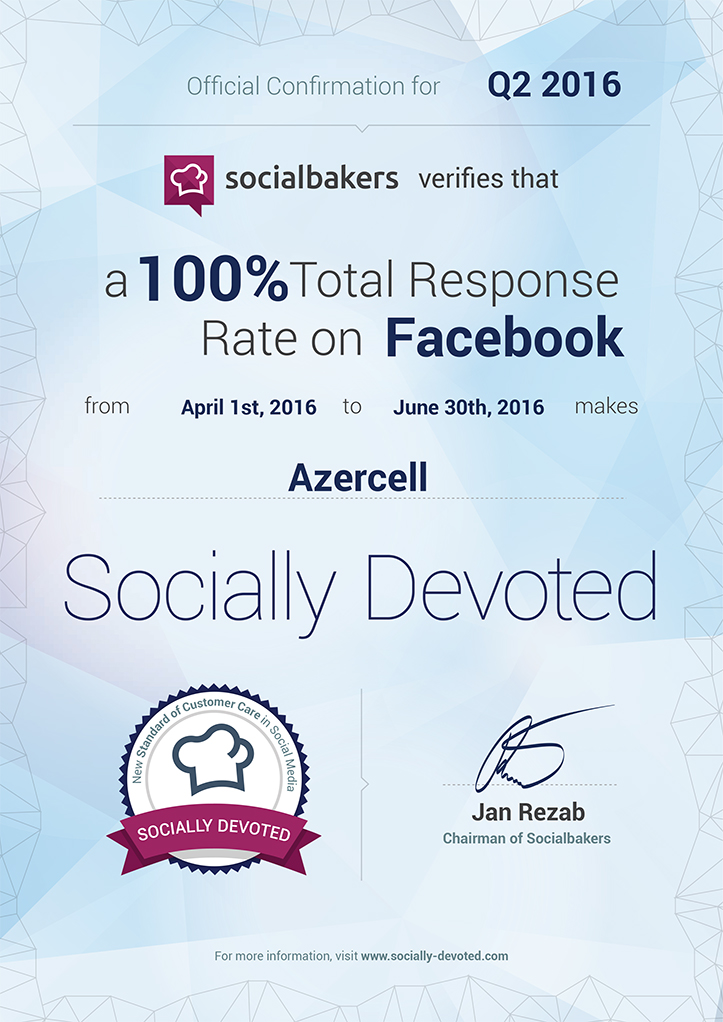 Socially Devoted Certificate