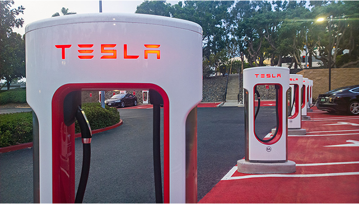 Tesla Supercharger США