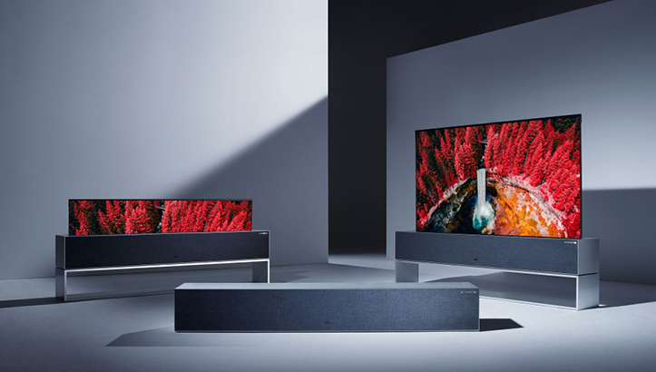 LG Signature OLED TV R Red Dot Award: