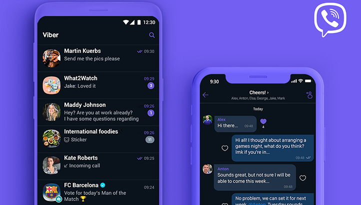 Viber Dark Mode