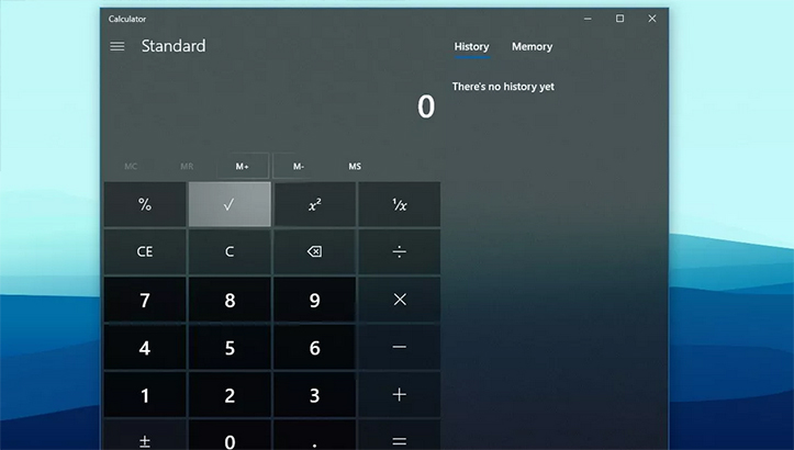 calculator Microsoft Windows