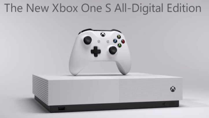 Microsoft Xbox One S All-Digital Edition