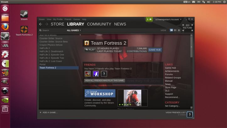 Steam Linux