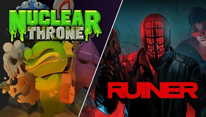 Nuclear Throne и RUINER Epic Games Store