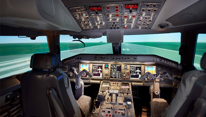 FS1000 Embraer E190-E1 Level D Full Flight Simulator