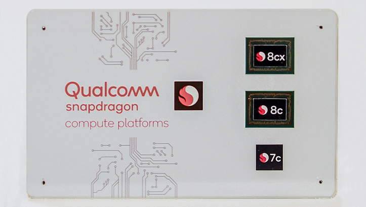 Qualcomm Snapdragon 7c 8c