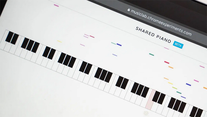 Google Shared Piano