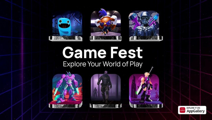 Huawei AppGallery Game Fest