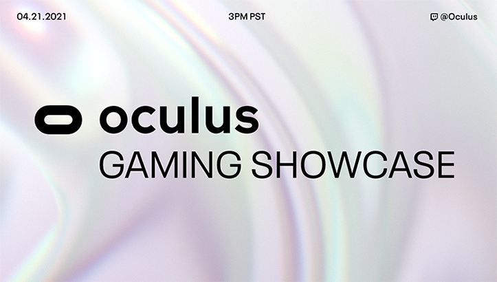 Facebook Oculus Gaming Showcase